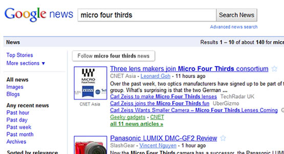 Create an RSS feed from any Google News search