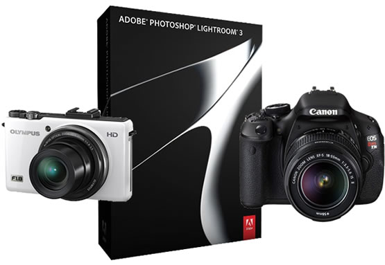Adobe Lightroom 3.4 RC new camera support