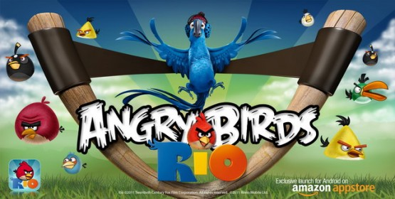 Angry Birds Rio Amazon Appstore exclusive