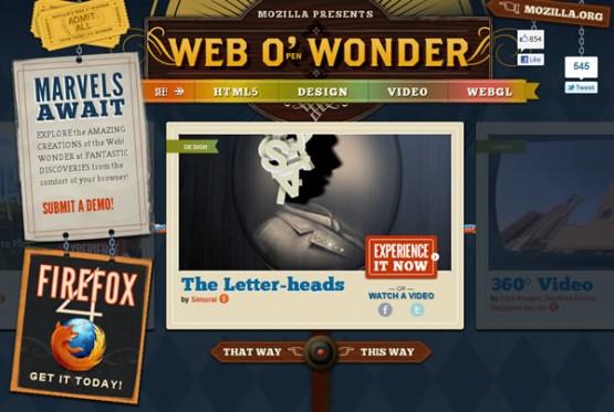 Firefox 4 ~ Web-o-Wonder
