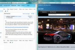 Internet Explorer 9 - Aero snap