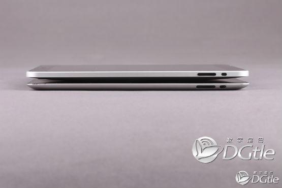 iPad 2 mock-up ~ Size comparison to the original iPad
