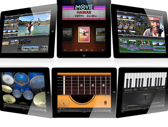 iPad 2 ~ Garageband & iMovie ~ Creativity on the go