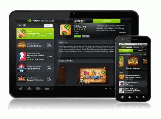 NVIDIA Tegra Zone Android app