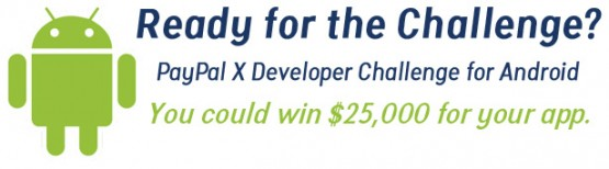 PayPal X Developer Challenge for Android