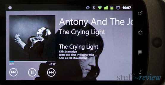 Zune / Windows Phone 7 music player for Android
