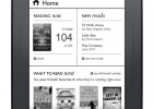 B&N new Nook touch - Home screen