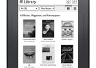 B&N new Nook touch - Library