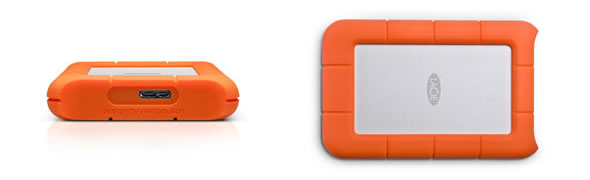 LaCie Rugged Mini - USB3.0 portable hard drive