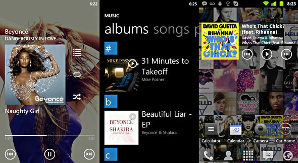 UberMusic Android music player app