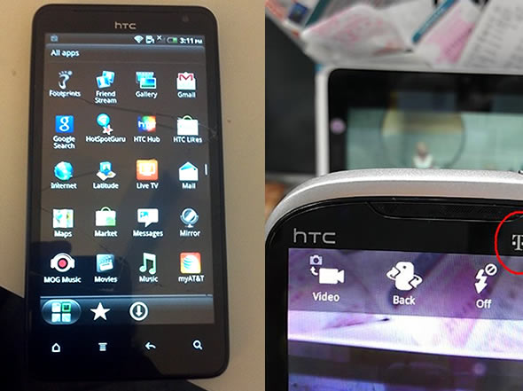 HTC Ruby and HTC Holiday leaked