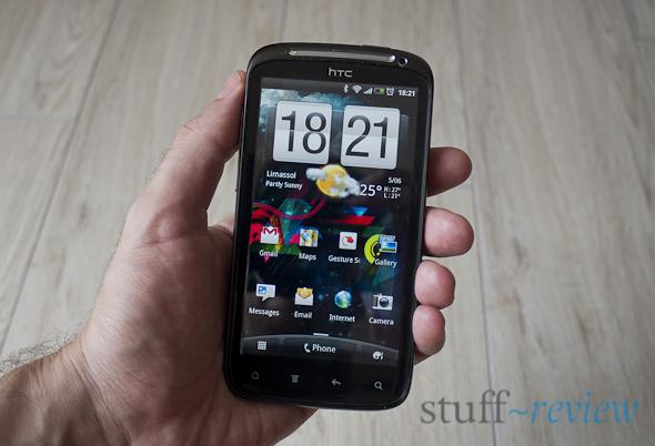 HTC Sensation in hand