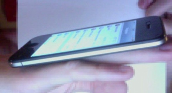 iPhone 5 leaked photo