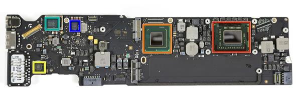 2011 MacBook Air logic board