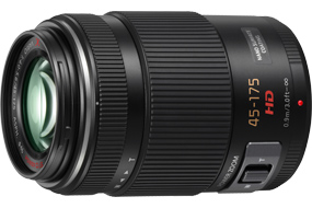 Panasonic 45-165mm X-series power-zoom telephoto lens
