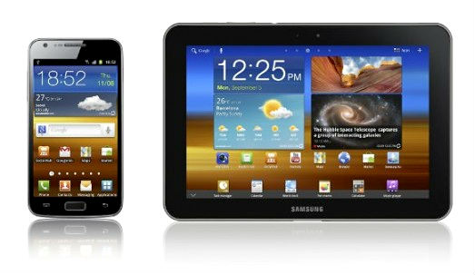 Samsung Galaxy S II LTE and Galaxy Tab 8.9 LTE