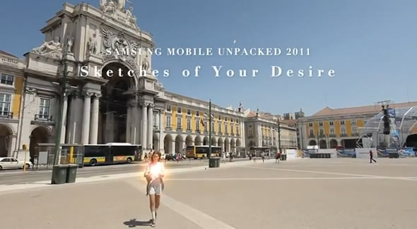 Samsung Mobile Unpacked teaser for IFA Berlin 2011