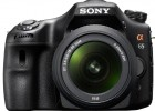 Sony Alpha A65 front