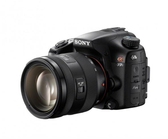 Sony Alpha A77 translucent mirror DSLT