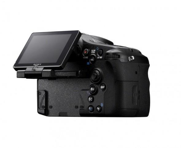 Sony Alpha A77 translucent mirror DSLT - Back tilt LCD