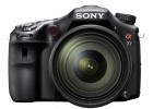 Sony Alpha A77 front