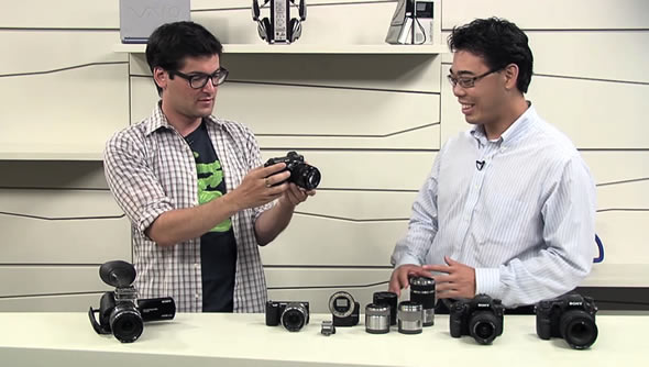 Sony new Alpha and NEX cameras video overview