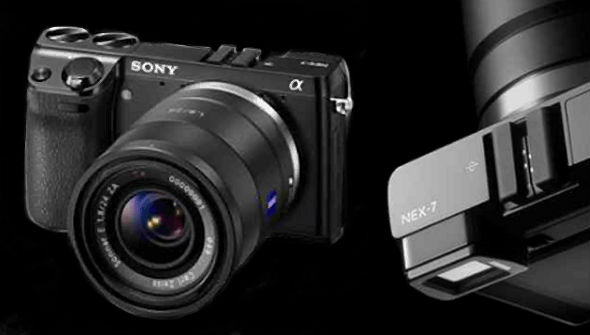 Sony Alpha NEX-7 mirrorless camera
