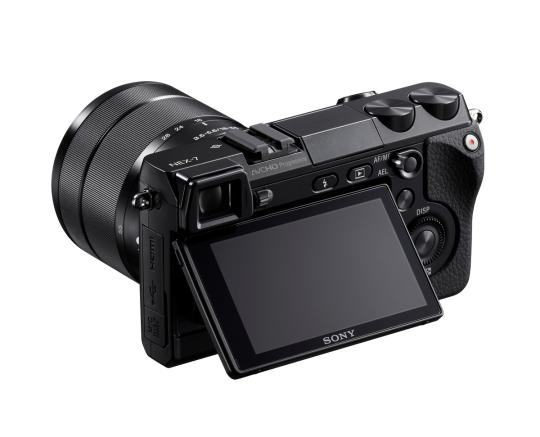 Sony NEX-7 tilt LCD