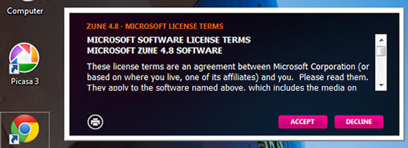 Zune software update 4.8