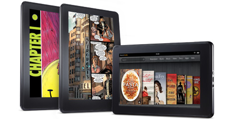 Amazon Kindle Fire 7-inch tablet