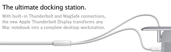 Apple Thunderbolt Cinema Display MagSafe dock