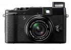 Fujifilm FinePix X10 front with flash on