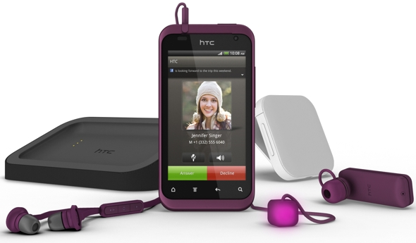 HTC Rhyme Android smartphone and accessories