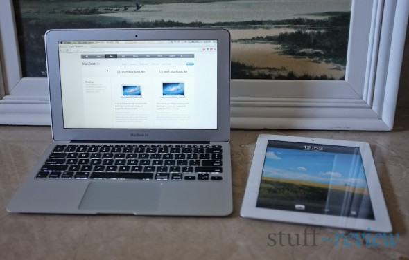 MacBook Air 2011 11-inch getting friendly with the iPad 2