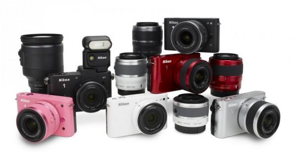 Nikon Series 1 MILC cameras and lenses