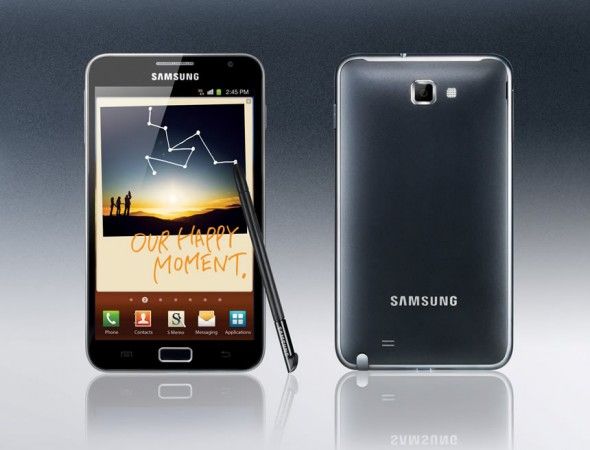 Samsung Galaxy Note: HD 5.3-inch Super AMOLED smartphone with stylus