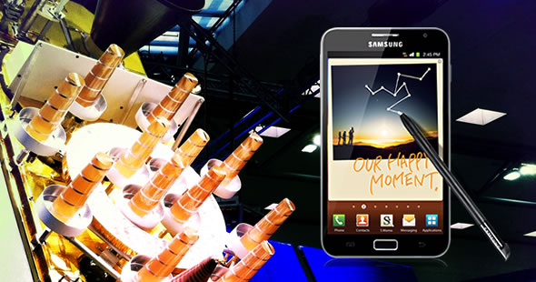 Samsung Galaxy Note with GLONASS support