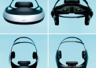 Sony HMZ-T1 OLED 3D head mounted display unit 360-degree views
