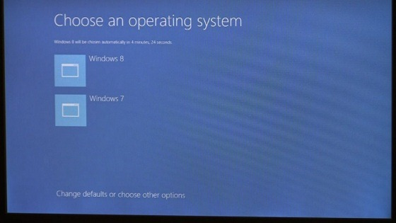 Windows 8 boot options new UI