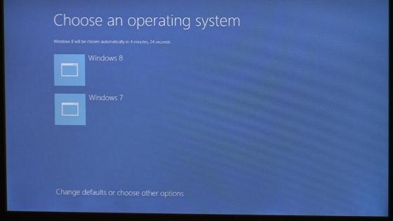 Windows 8 boot options new UI