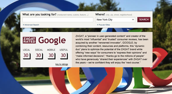 Zagat acquired by Google