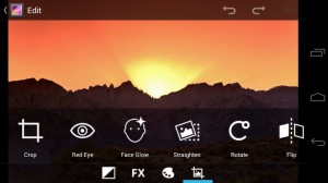 Android Ice Cream Sandwich: Built-in image editor