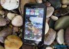 Motorola Defy+ Plus Motoblur homepage with widgets