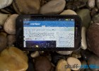 Motorola Defy+ Plus landscape wet