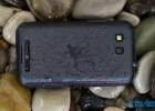 Motorola Defy+ Plus back wet