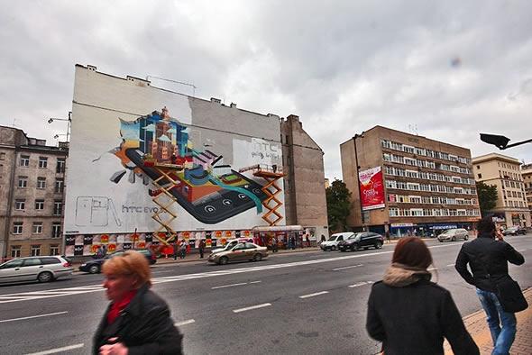 HTC EVO 3D mural