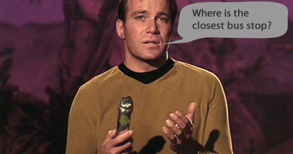 Star Trek universal translator - Google Translate