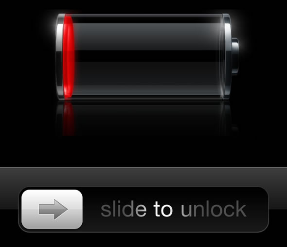 iPhone low battery level