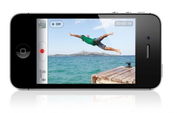 iPhone 4S - HD video recording