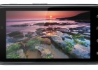 Motorola Droid RAZR Android smartphone - front landscape